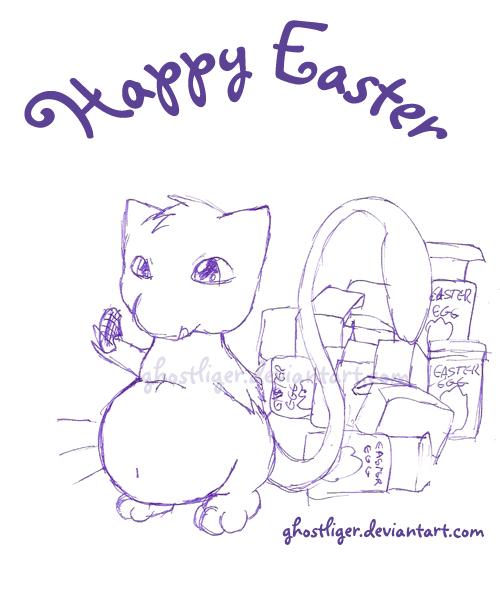 Easter Doodle by GhostLiger