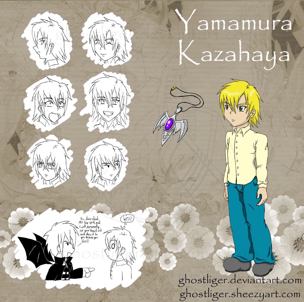 Yamamura Kazahaya by GhostLiger