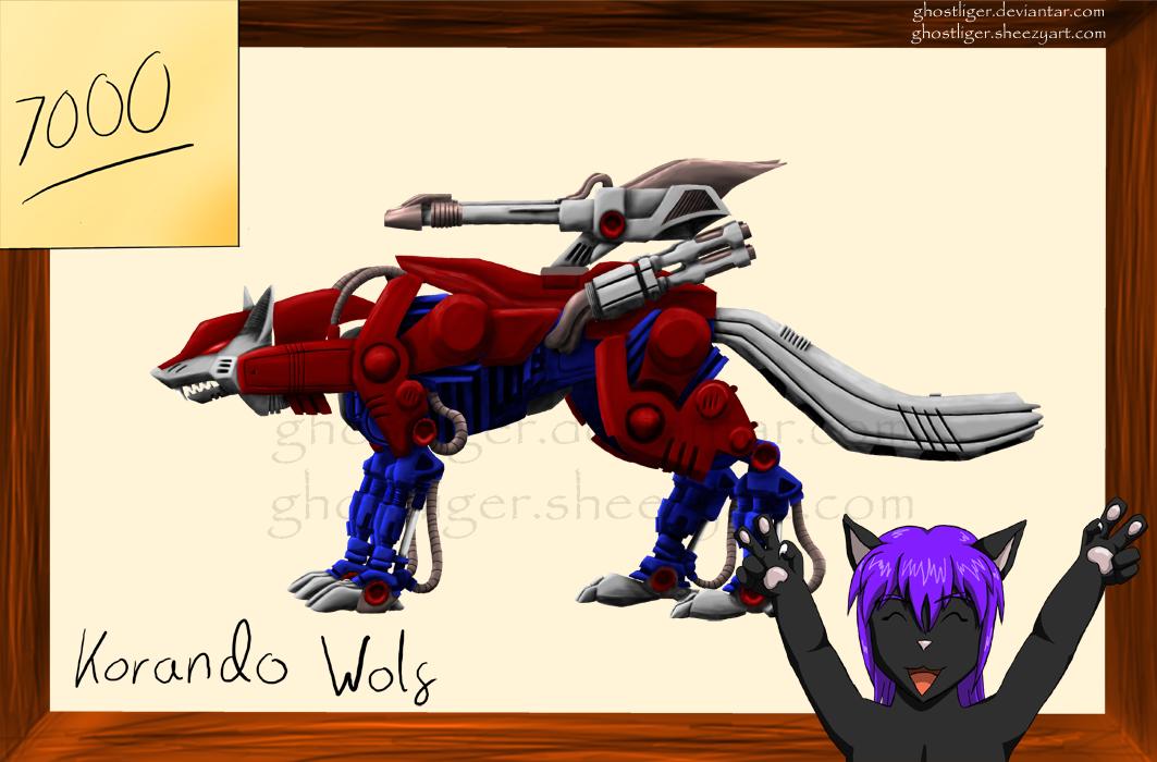 Korando Wolf 7K by GhostLiger