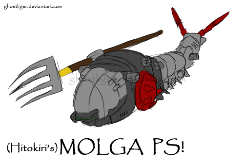 Hitokiri's Molga PS by GhostLiger