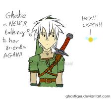 Shadow: Link cosplay by GhostLiger