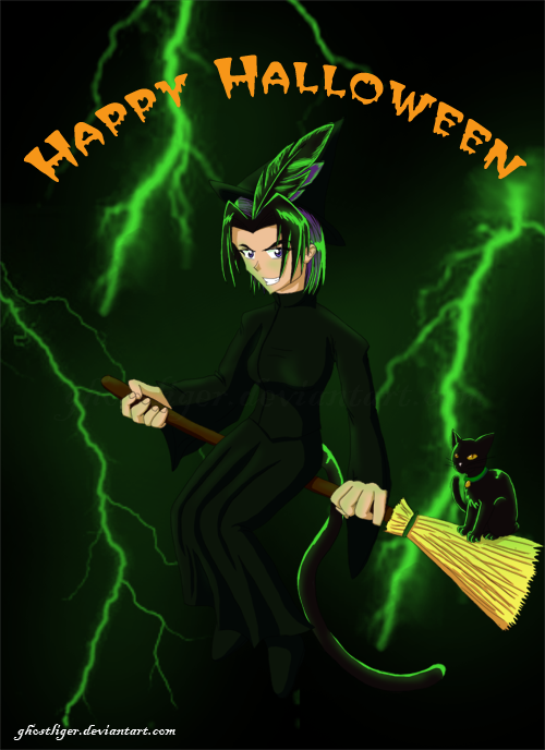 Happy Halloween 2k9 by GhostLiger