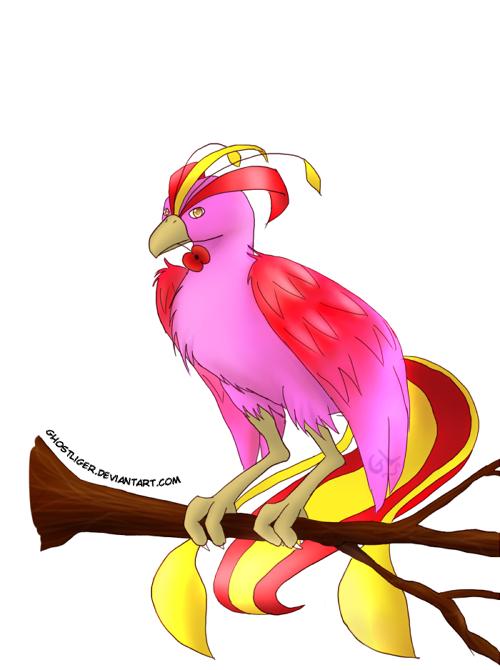 Phoenix and Poppy by GhostLiger