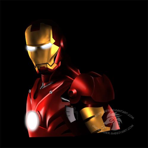 Iron Man by GhostLiger