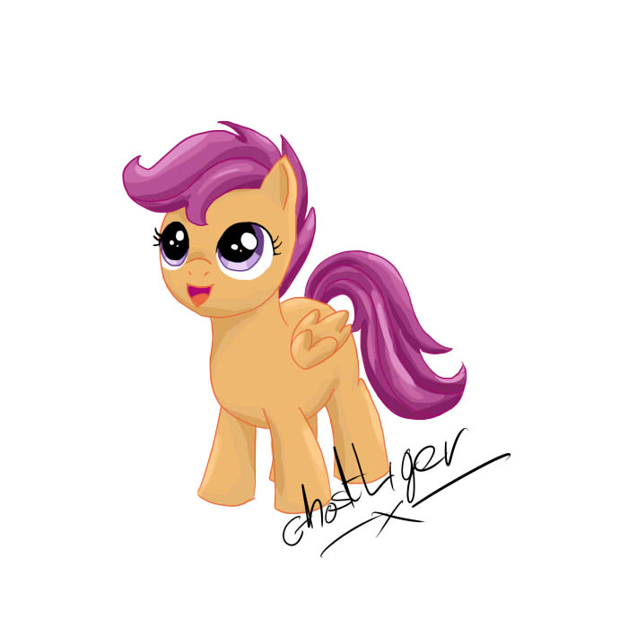 Scootaloooooo by GhostLiger