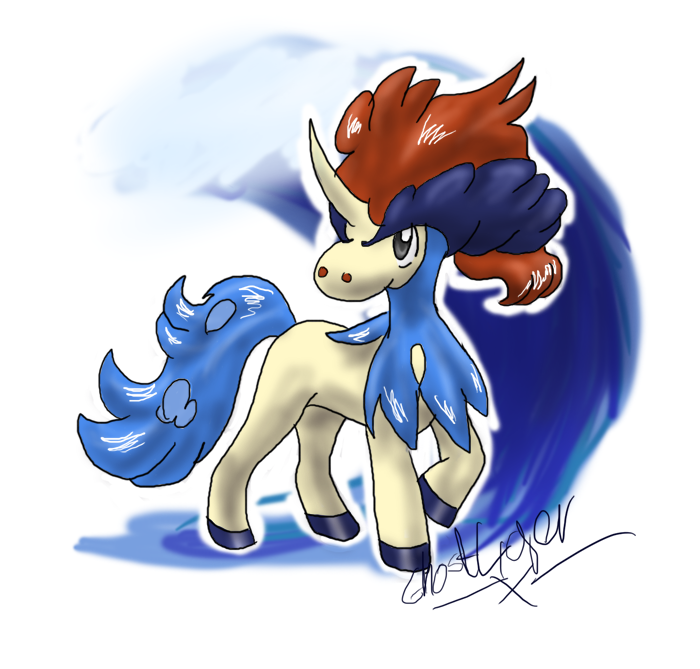 Keldeo used Surf by GhostLiger