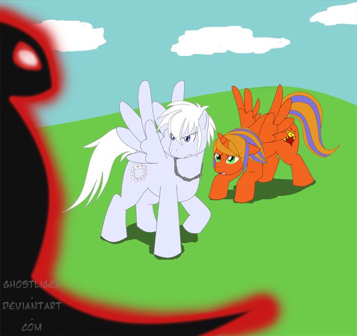 OMG Ponies! by GhostLiger