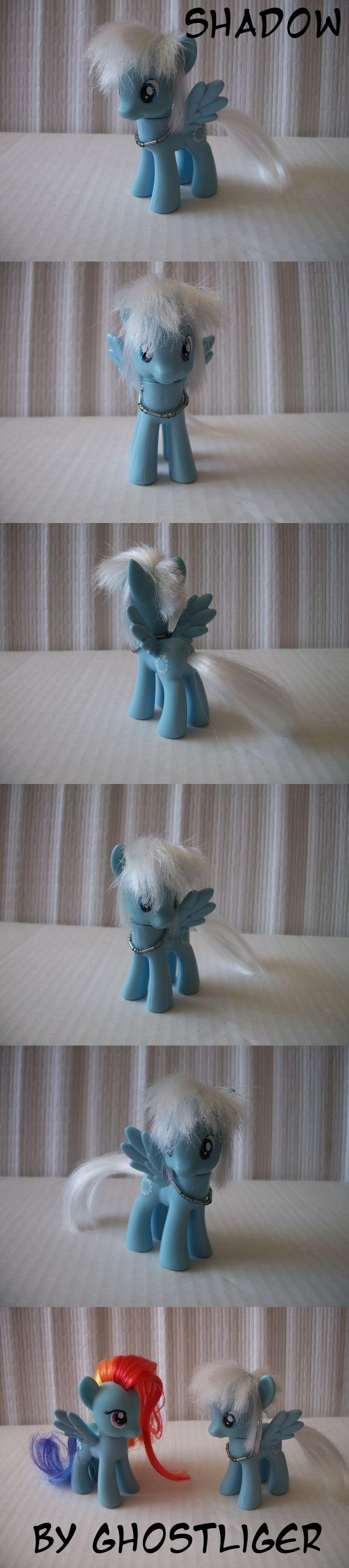 Custom pony - Shadow by GhostLiger