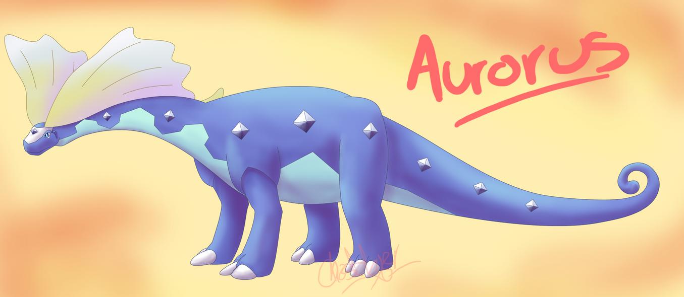 Aurorus by GhostLiger
