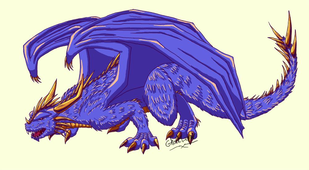 Dragon request. by GhostLiger