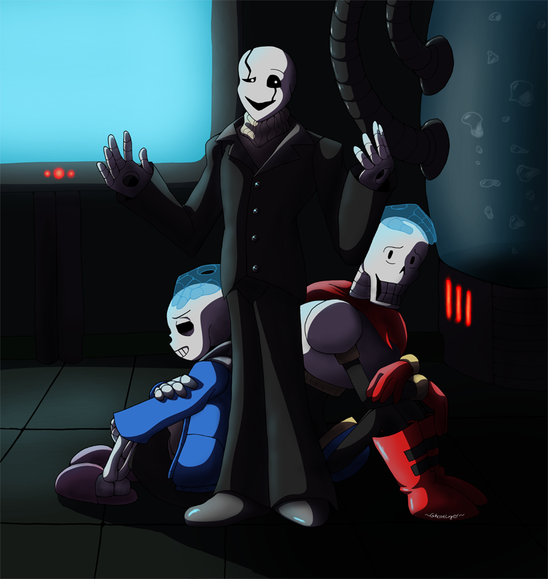 The man who speaks in hands by GhostLiger