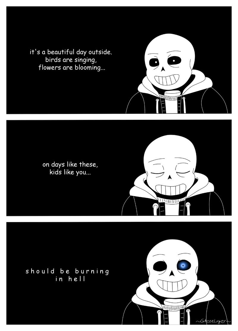 you're gonna have a bad time by GhostLiger