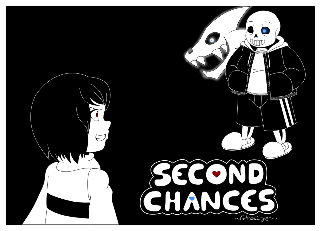 Undertale Second Chances pg2 copy by GhostLiger