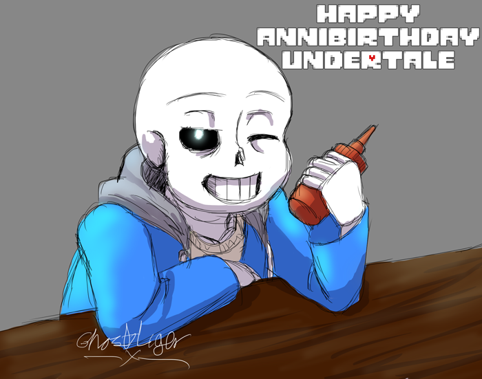 Happy 2 Years! by GhostLiger