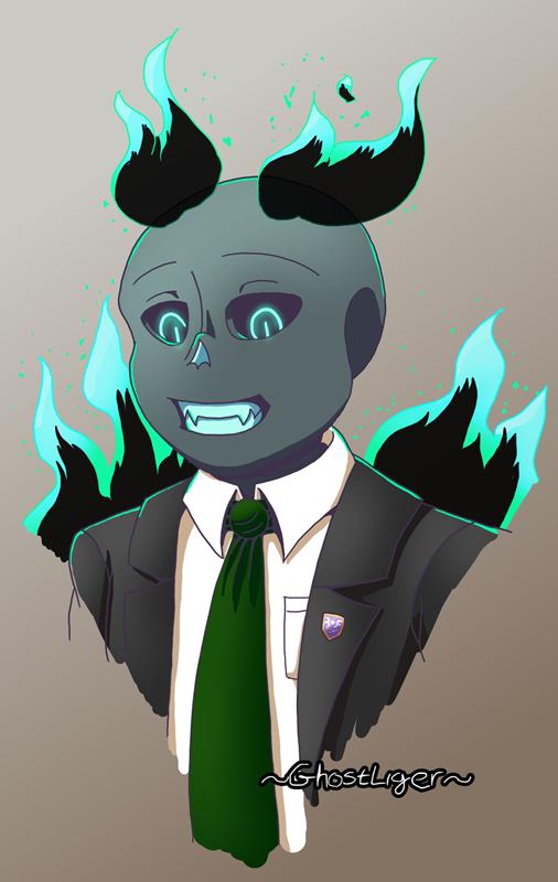 The office joker. by GhostLiger