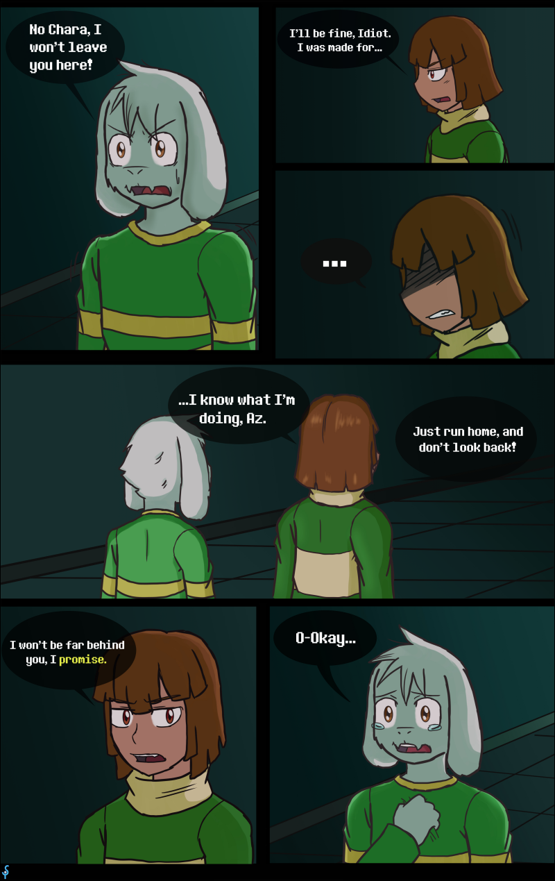 Curiousity Pg14 by GhostLiger