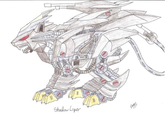Custom Zoid: Shadow Liger by GhostLiger