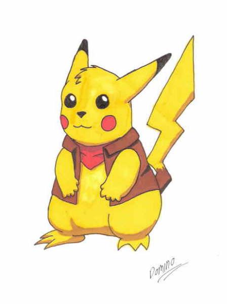 Pikachu by GhostLiger