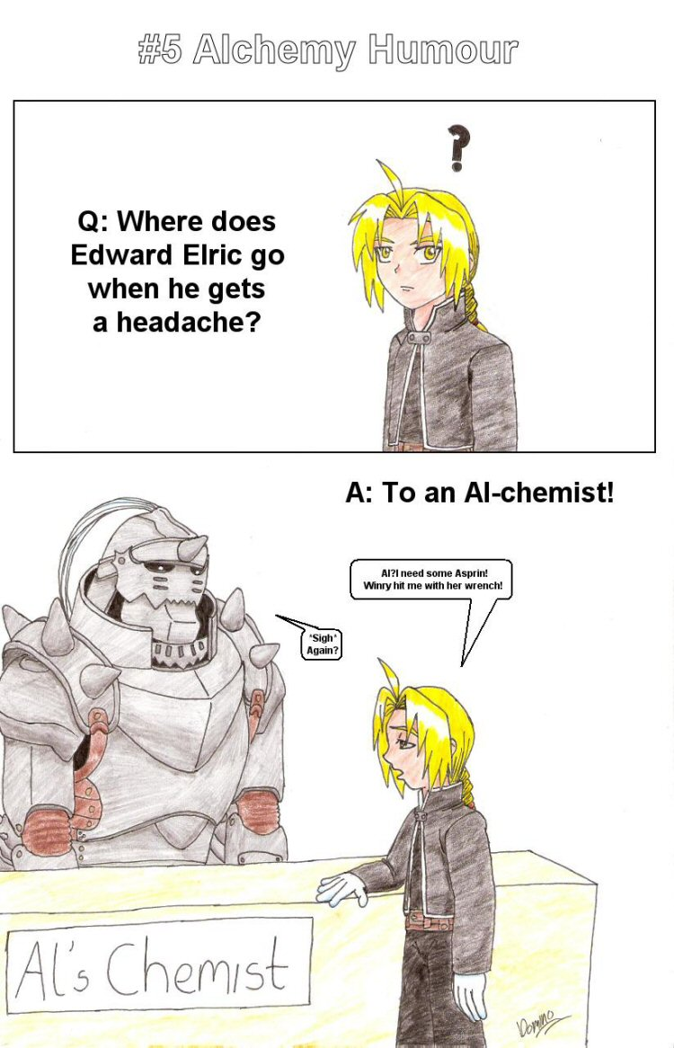 Alchemy humour by GhostLiger