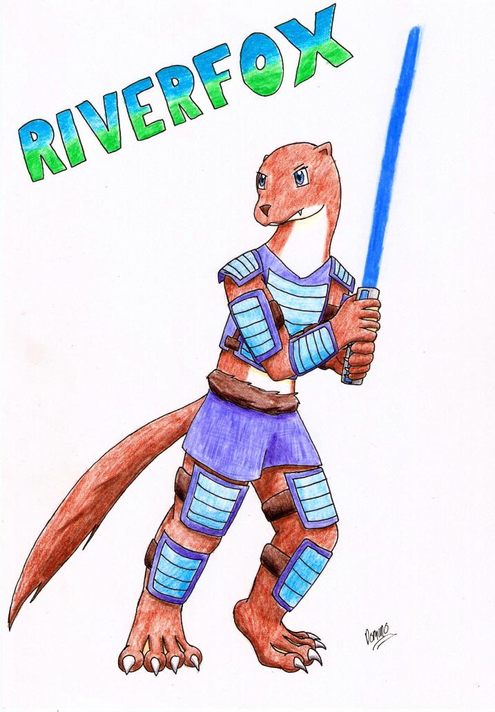 Riverfox by GhostLiger