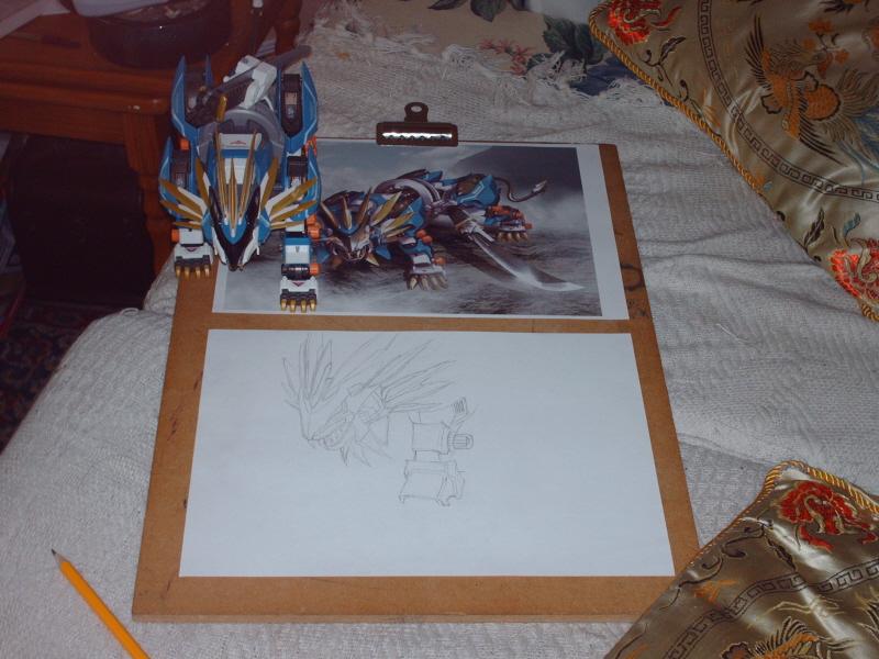 Ghostie's Drawing Board. by GhostLiger