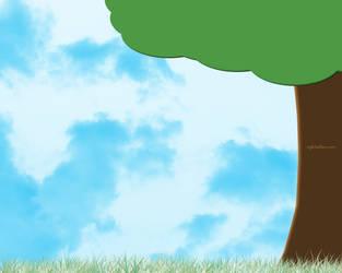 The Lone Tree by sabriena