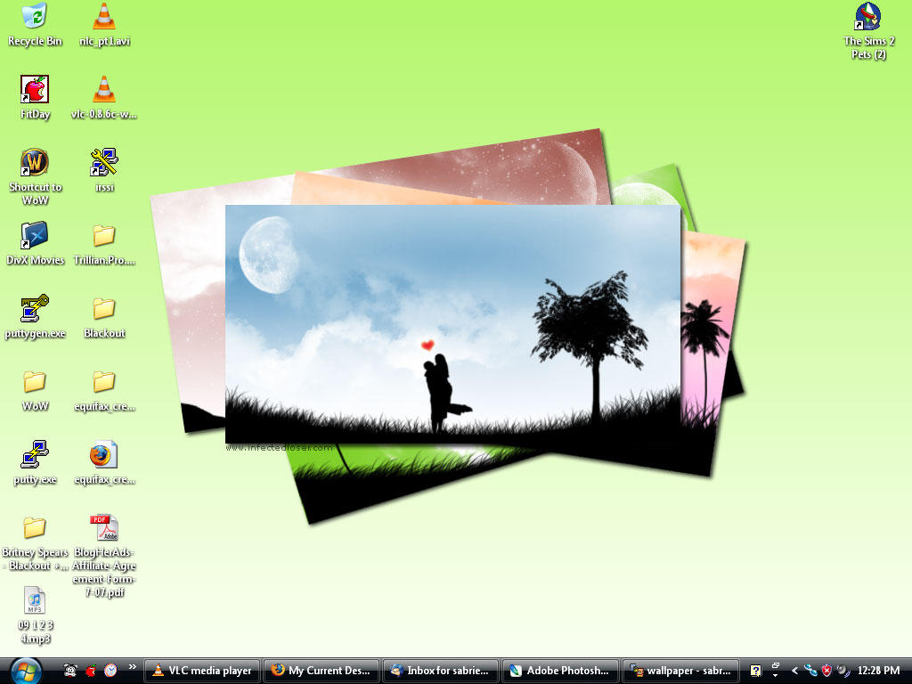 My Desktop - Infected Loser