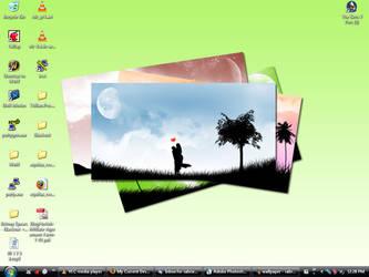 My Desktop - Infected Loser by sabriena