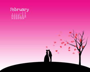 February Calendar by sabriena