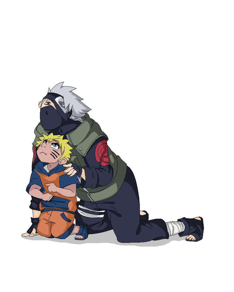 Ms Paint Kakashi And Naruto Mouse Drawing by Jaw2002 on ...