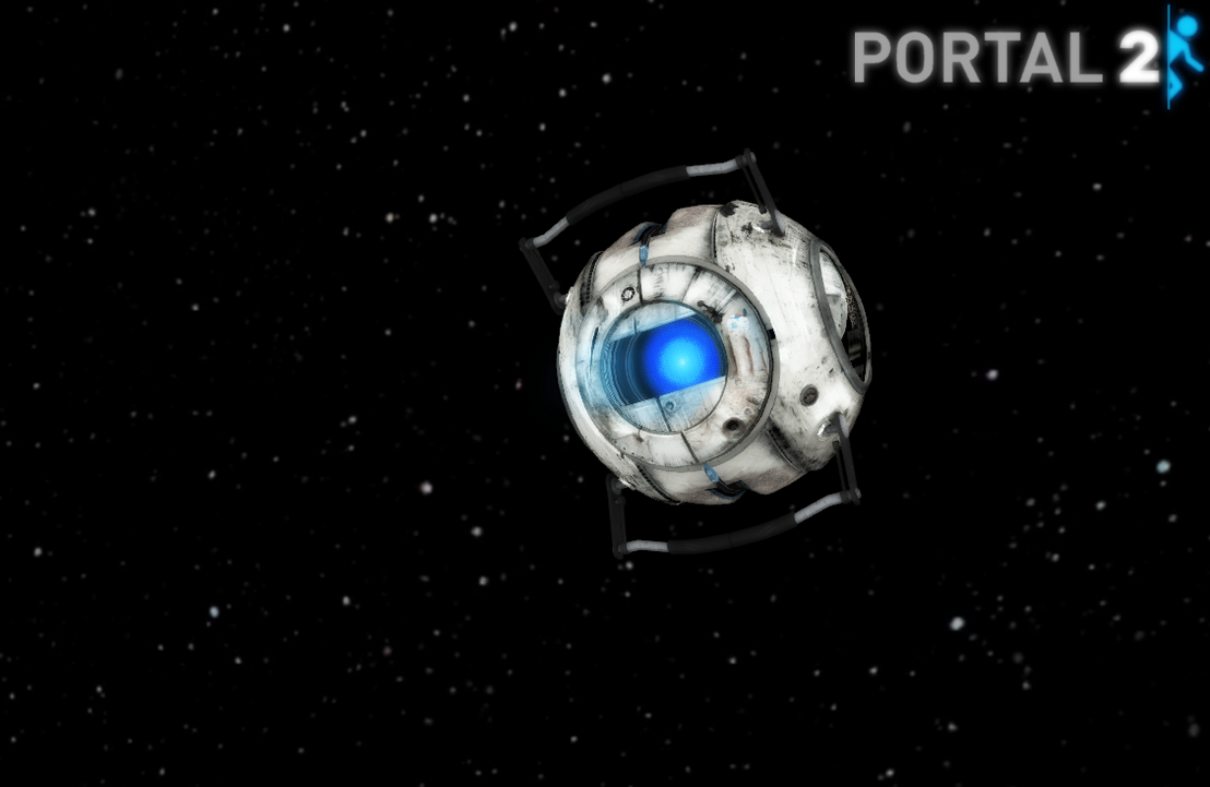 Portal 2 wheatley webcam by crazy daydreamer on deviantart for 3 portals