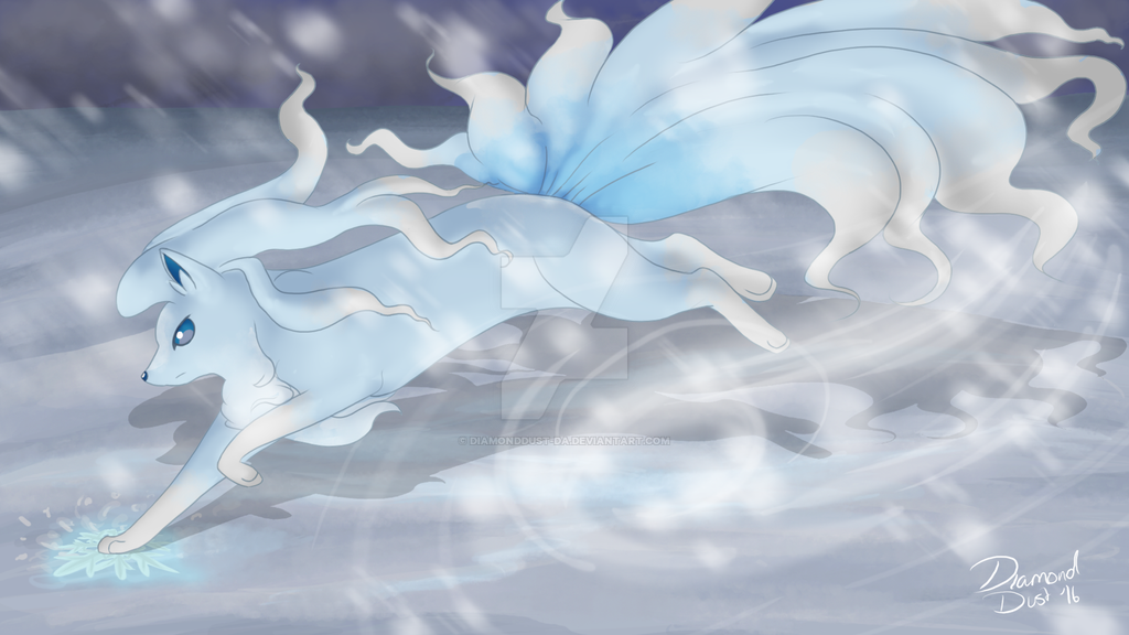 Ninetales Alola Form - Weekly Competition #5 by DiamondDust-DA on ...
