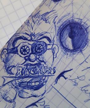 Crackers boy et une Pokeball (doodle)