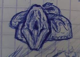 Un serpent (doodle)