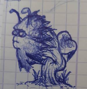 Une plante bizarre (doodle)
