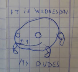 It was wednesday (doodle)