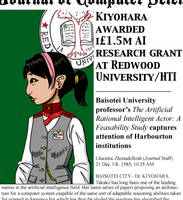 Kiyoharha Takako gets a grant by rincewindmog