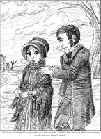 Jane Eyre and Mr. Rochester by rincewindmog