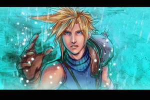 Cloud Strife by Magochocobo