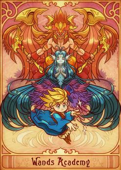 Wands Academy: Save goddess