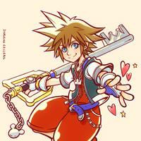 Sora Kingdom Hearts by Magochocobo