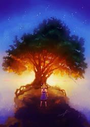 Maiden Tree Art