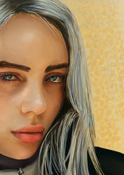 Billie Eilish Fanart Digital Drawing