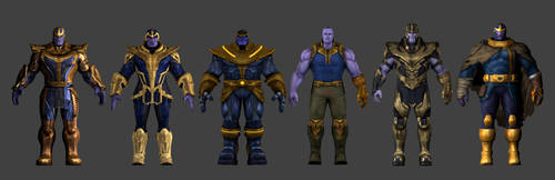 Thanos Collection Download Rigged by carlosgremio86