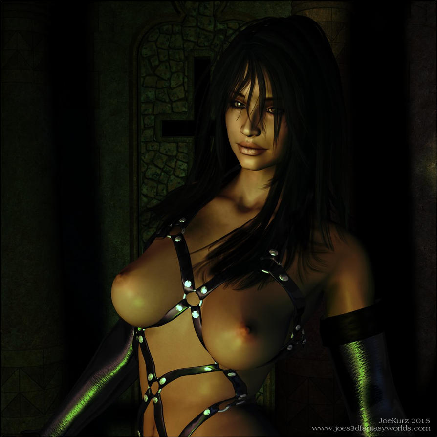 The Temple Mistress (Closeup) by akanay