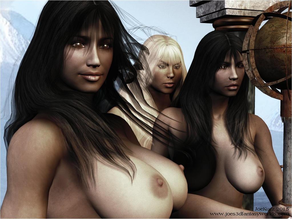 Busted Templegirls of Atlantis by akanay