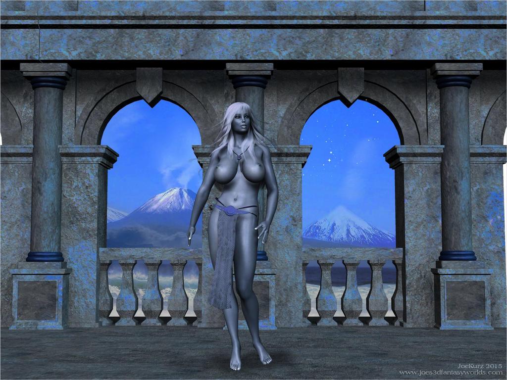 Nighttime in Atlantis by akanay