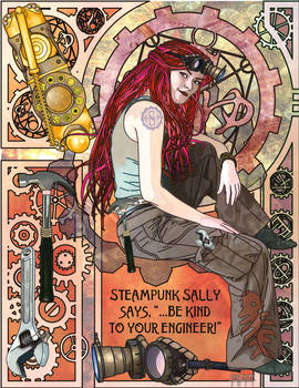 Steampunk Sally - New