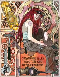 Steampunk Sally - New by ChazKemp