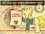 Fallout: Equestria Poster (Stable-Tec)